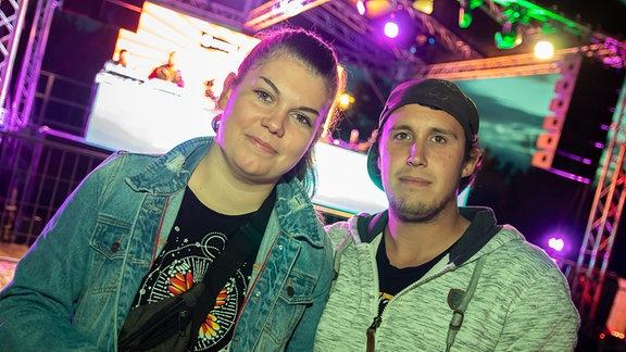 Partyfoto von der SPUTNIK SPRING BREAK Tour in Bitterfeld-Wolfen.