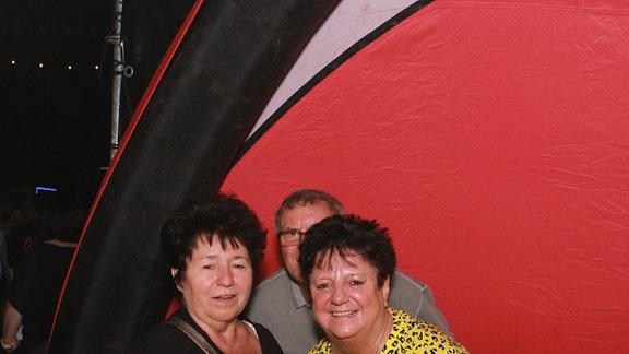 Die Fotobox der Heimattour beim Schlossfest in Weißenfels