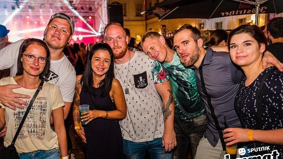 Die Partybilder von der Heimattour beim Schlossfest in Weißenfels