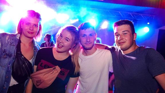 Die Partyfotos von der Heimattour in Wulfen
