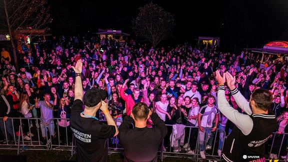 Partyfoto von der SPUTNIK SPRING BREAK Tour in Hohenmölsen.