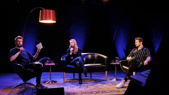 Die Bilder der ersten Live-Produktion des LGBTIQ-Podcasts SPUTNIK PRIDE.