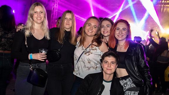 So sah es bei der SPUTNIK SPRING BREAK Tour in Gölzau aus!