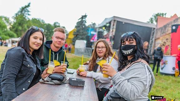 Die Partyfotos von der SSB-Tour auf der Schlosswiese Zörbig