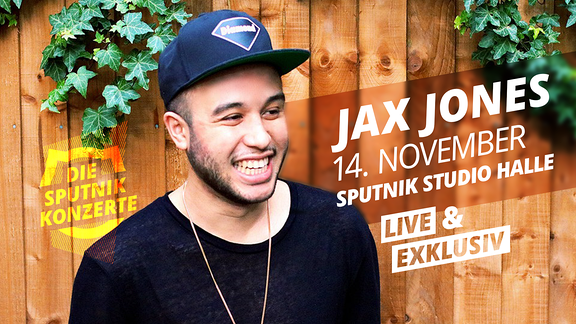 Das SPUTNIK Konzert mit Jax Jones findet am 14.11. um 20 Uhr im SPUTNIK Studio statt.