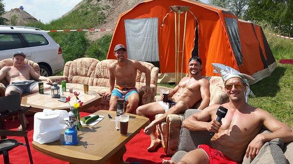 Donnerstag auf dem SSB-Campingplatz