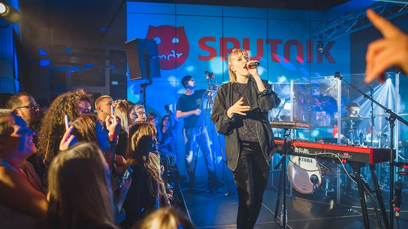 Das SPUTNIK-Konzert mit LEA in Bildern