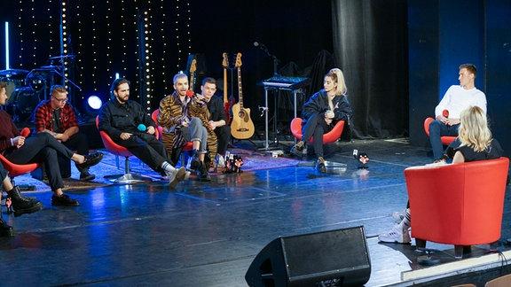 Die SPUTNIK Show mit Tokio Hotel, Ilira, Nicolas Puschmann, Caro Cult und Thomas Röhler, moderiert von Sissy Metzschke.