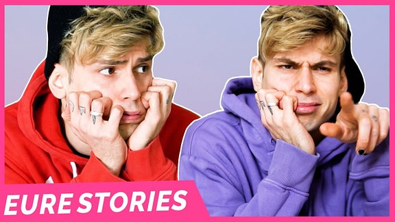 Weil das letzte Story Video so gut bei euch ankam, hat Kostas diese Woche nochmal 3 Stories für euch vorbereitet. Das erste Outing als lesbisch lief kurz und schmerzlos. Für Nummer 2 schämt sich Kostas ein wenig und das dritte Coming Out als pansexuell ist auch echt positiv.