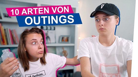 """Thumbnail des Videos """"10 Arten von Outings"""" von OKAY."""