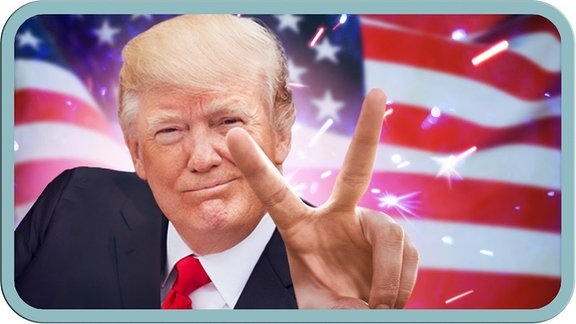 Trump, Grafik MrWissen2Go
