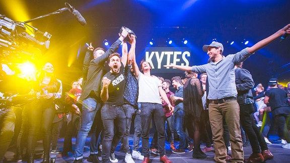 Kytes bei der Preisverleihung zum New Music Award 2016