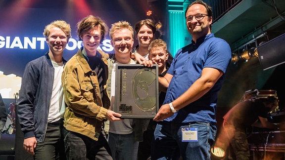 Giant Rooks beim NEW MUSIC AWARD 2019