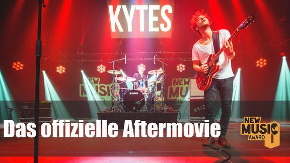 Die Band Kytes auf der NMA-Bühne