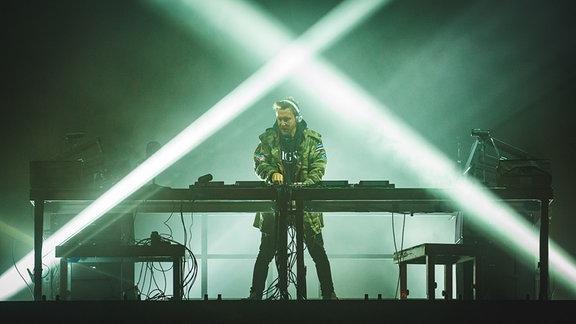 David Guetta auf der Mainstage