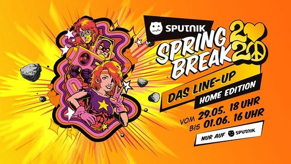 Weil wir dieses Jahr nicht gemeinsam an der Goitzsche den SPUTNIK SPRING BREAK feiern können, bringen wir ihn einfach zu euch nach Hause und haben ein grandioses Line-Up dafür aufgestellt!