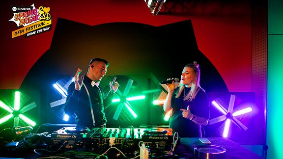 Dj-Duo Madstep beim SSB2020 Home-Edition