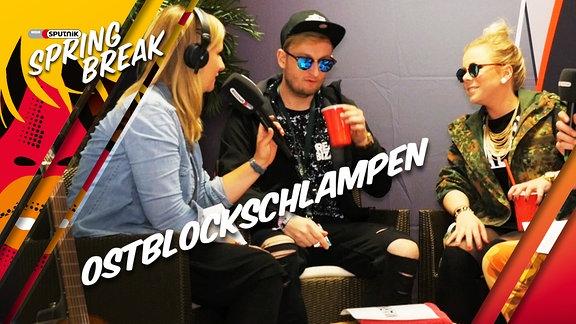 Ostblockschlampen im Interview beimV SSB16