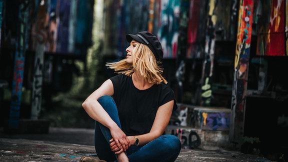 Sinah gehört als DJ zum Kollektiv Women of Techno.