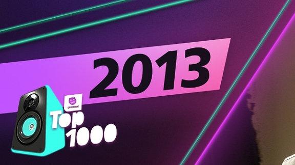 Die Charts aus dem Jahr 2013.