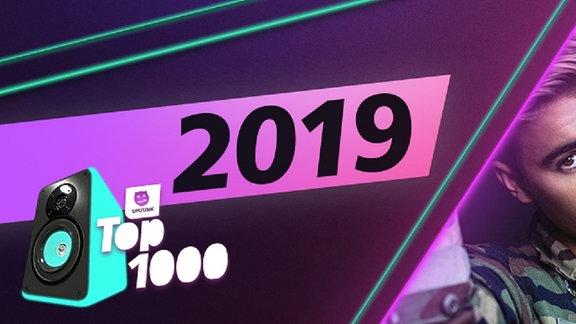 Die Charts aus dem Jahr 2019. Platz 1: Justin Bieber x Ed Sheeran.