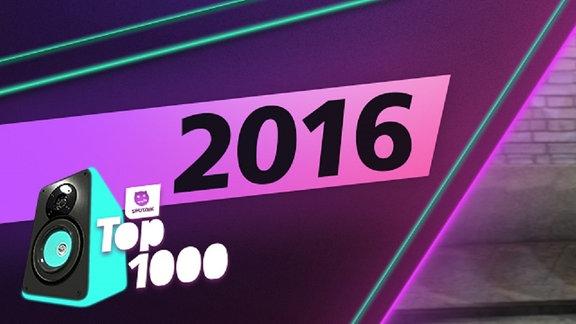 Die Charts aus dem Jahr 2016. Platz 1: Sia.