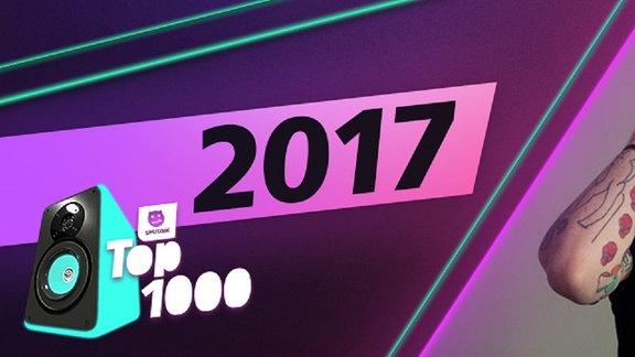 Die Charts aus dem Jahr 2017. Platz 1: Ed Sheeran.