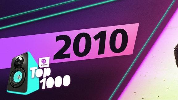 Die Charts aus dem Jahr 2010. Platz 1: Owl City.