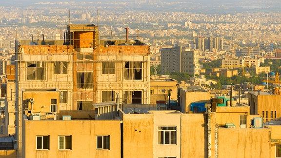 Bild von der Stadt Teheran