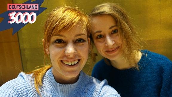 Margarete Stokowski und Eva Schulz