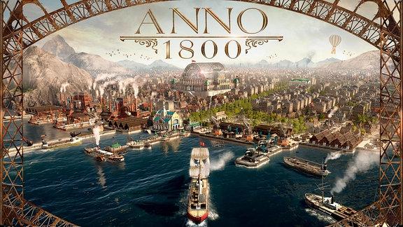 Cover zum Computerspiel Anno 1800
