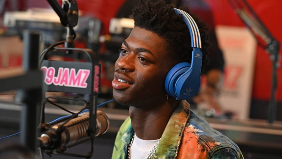 Bild beim Radio von Lil Nas X
