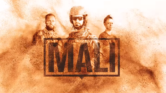Das Titelbild zur YouTube-Serie Mali der Bundeswehr