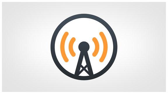Logo der App Overcast