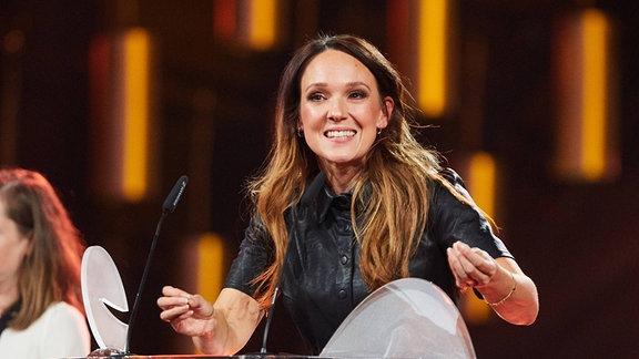 Carolin Kebekus bei der Verleihung des - Deutschen Comedypreises 2019.