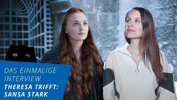 Das einmalige Interview mit Sansa Stark
