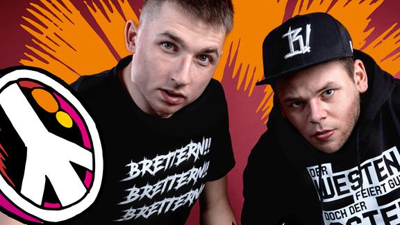 "Promobild der DJs ""Die Gebrüder Brett"" für den SPUTNIK Spring Break."