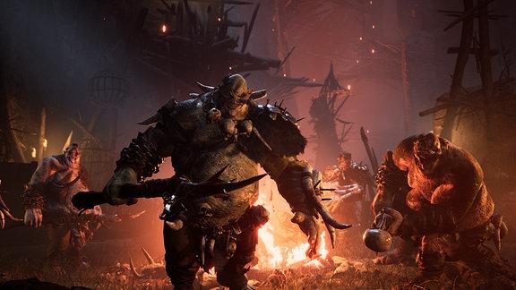 Szene aus dem Spiel Dungeons and Dragons - Dark Alliance.
