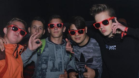 Partypeople auf der Heimattour in Weißenfels
