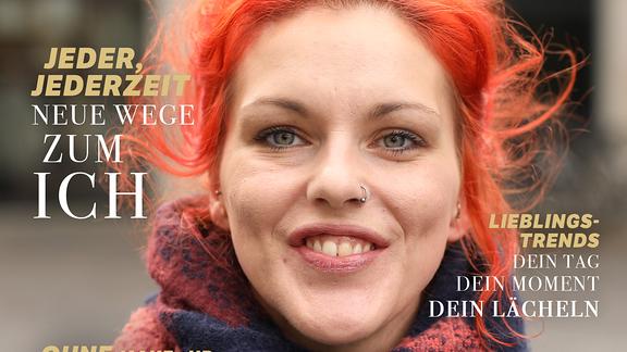 Passantin auf dem Cover einer funk-Zeitschrift