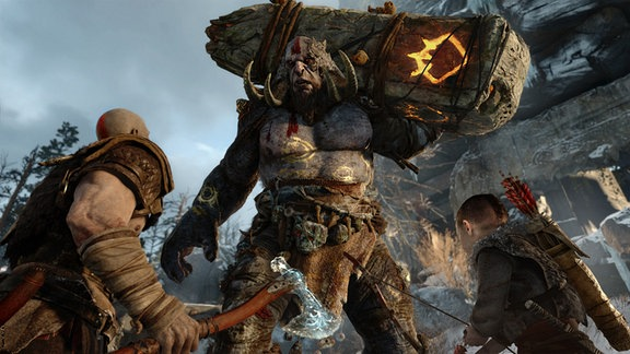 "Screenshot von ""God of War"""