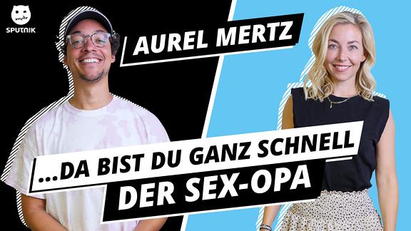 Aurel Mertz und Sissy.