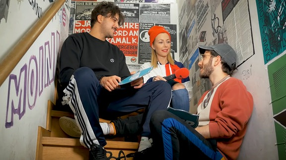 Die Leoniden im Interview mit SPUTNIKerin Sissy