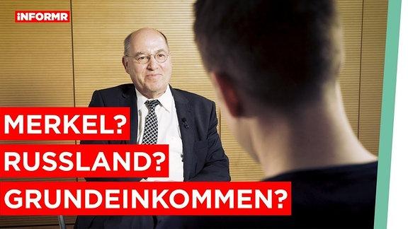 Gregor Gysi im Interview