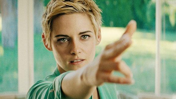 Jean Seeberg Darstellerin Kristen Steward macht Pew pew pew!