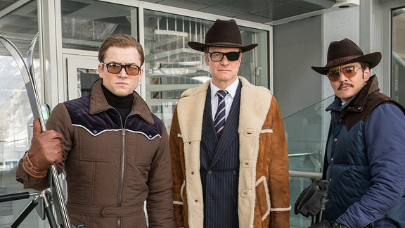 Filmszene aus Kingsman 2: The Golden Circle