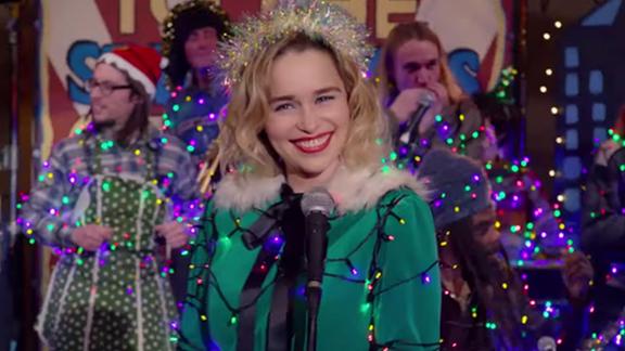 Totales Christmas-Feeling mit der Drachenfrau aus GoT.