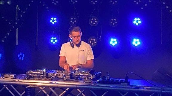 Loudiac am DJ-Pult