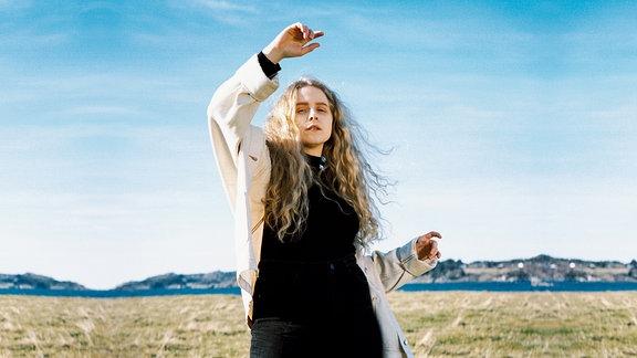 Die norwegische Sängerin Moyka.