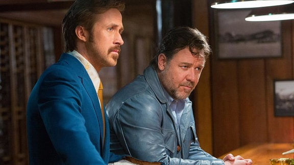 """The Nice Guys"" mit Ryan Gosling und Russell Crowe"